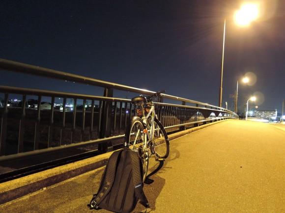 深夜自転車部始動