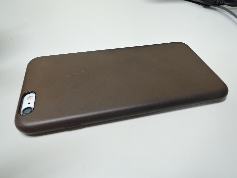 iPhone6Plus レザーケース外観1