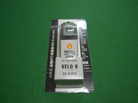 CATEYE サイクルコンピューター/VELO-9 CC-VL820