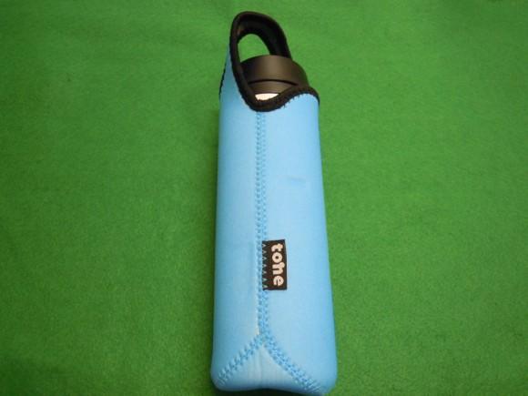トーン ボトルカバー 500ml ブルー TC-01