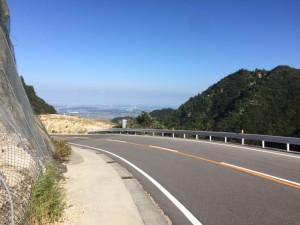 武平峠からの眺望