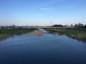 久保田橋から伊勢湾方面