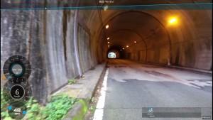 鈴鹿スカイライン トンネル