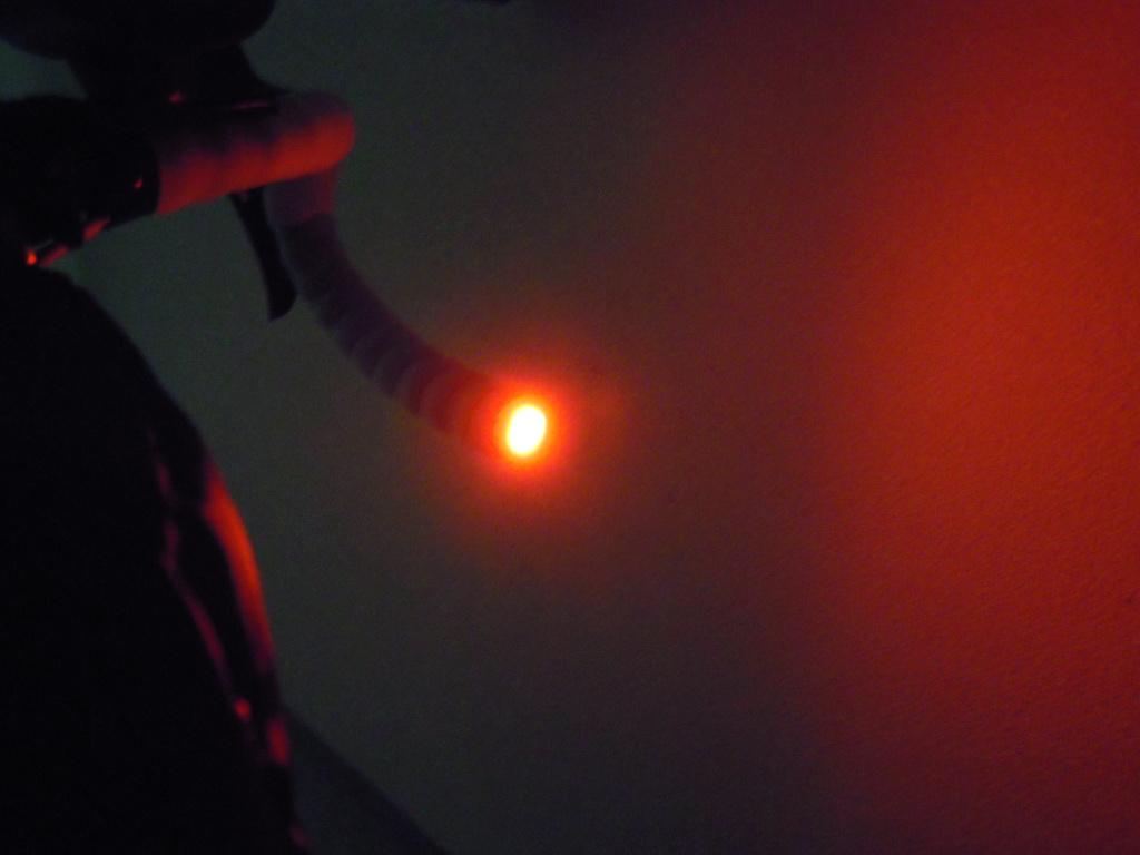 自転車用LEDフラットエンドライト