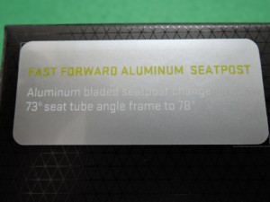 ProfileDesign FFA シートポスト