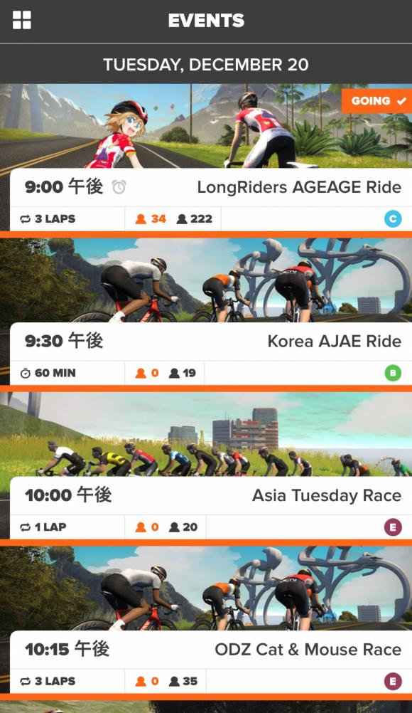 Zwift LongRiders AGEAGE Ride