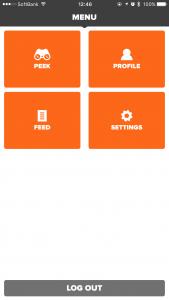 Zwift App 画面