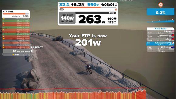 Zwift FTP計測
