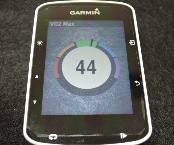 Garmin Edge520 VO2Max