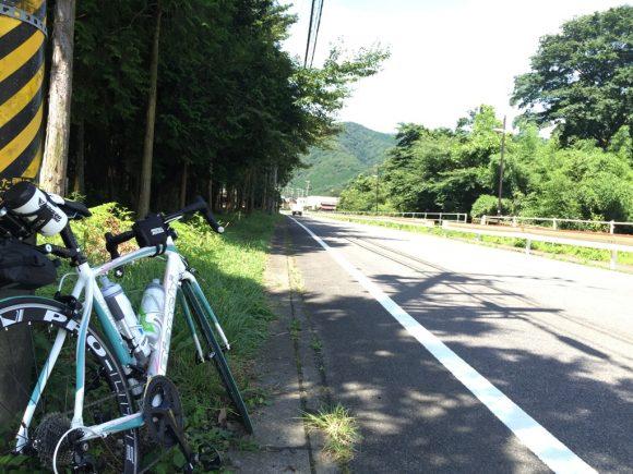 二ノ瀬峠スタート地点