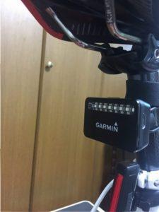 Garmin Varia J 取付画像