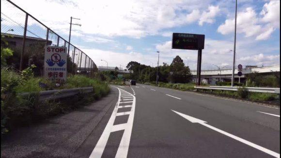国道1号 京都東IC付近
