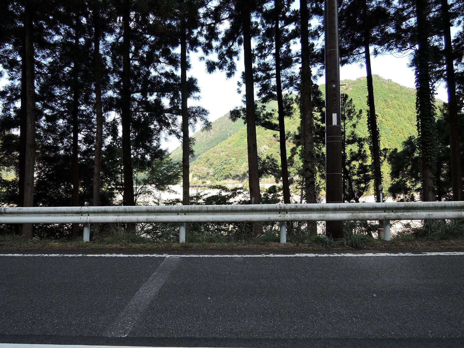 野洲川ダム周辺