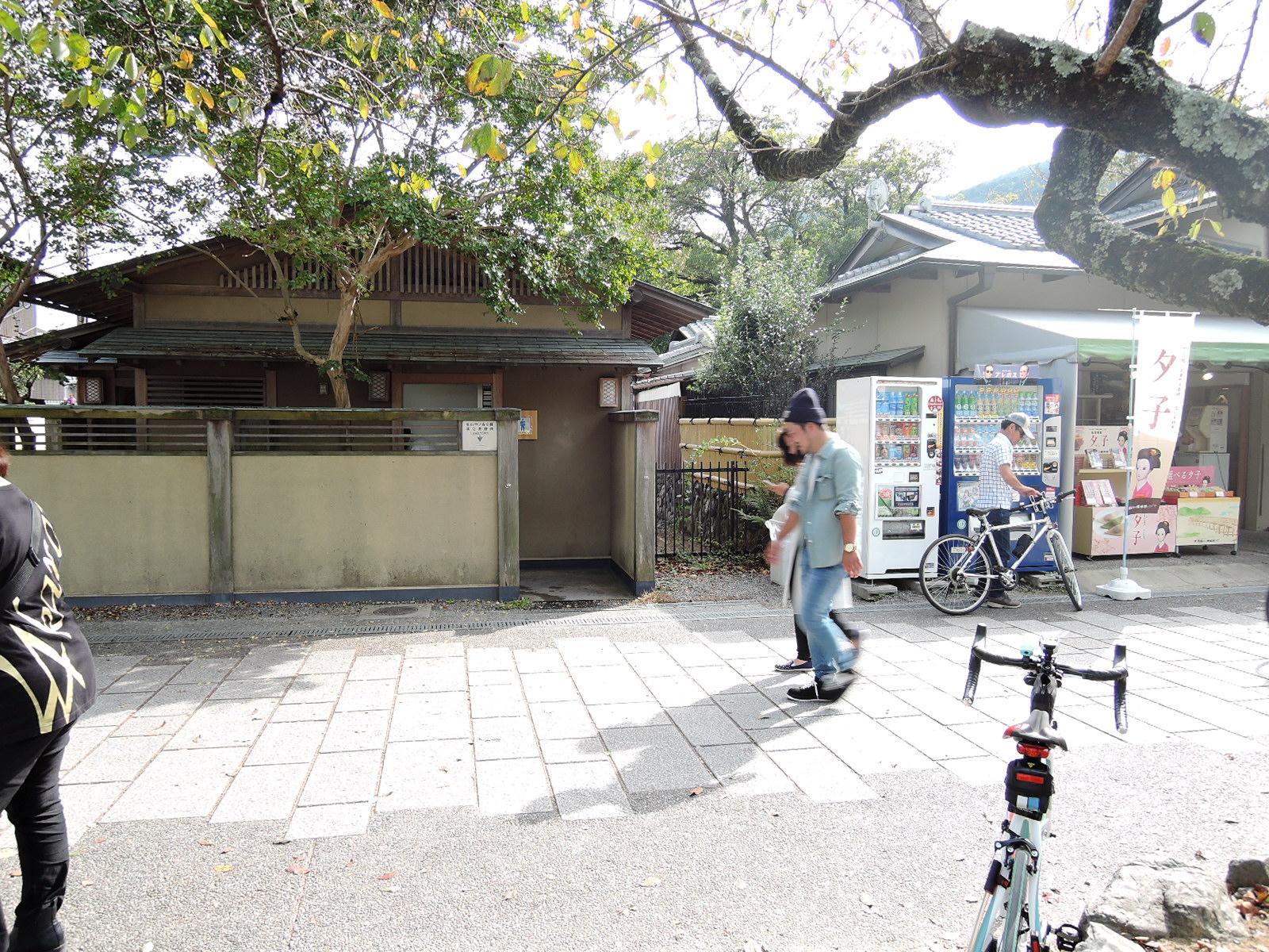 嵐山公園中ノ島地区 男性トイレ