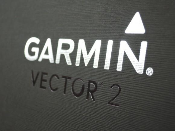 「Garmin Vector 2J」の外箱のロゴ
