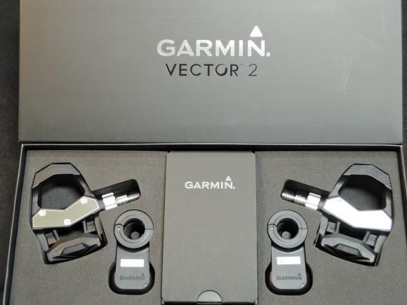 「Garmin Vector 2J」の開封直後の写真