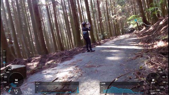 小岐須渓谷ヒルクライム