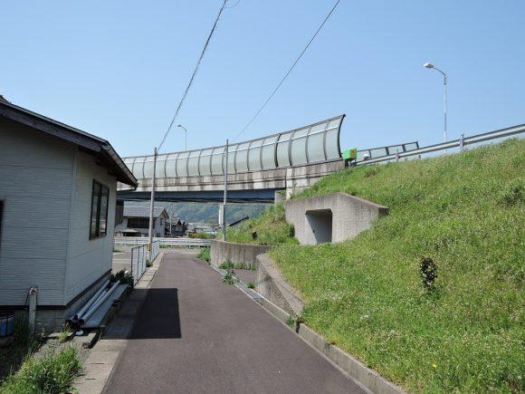 縄文の里大橋は自転車通行禁止