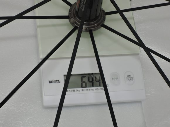 レーゼロ 前輪重量