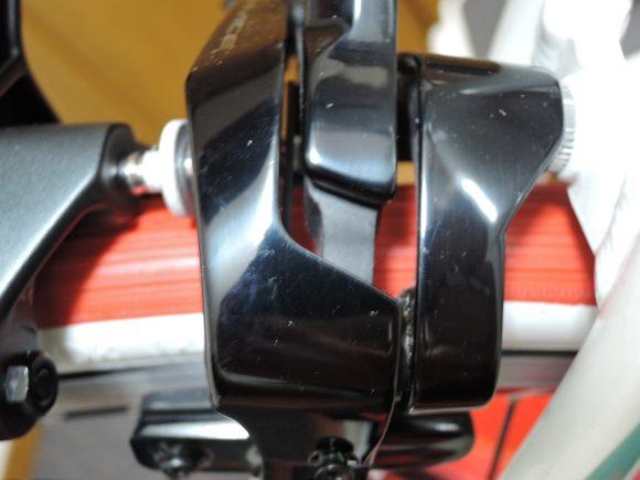 シマノ新型アルテグラ・ブレーキ「BR-R8000」と新型デュラエース・ブレーキ「BR-R9100」の見た目の比較