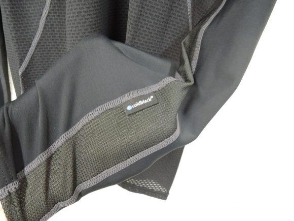 【パールイズミ】プレミアム アンダー ロングスリーブ(108)の袖のメッシュ部分