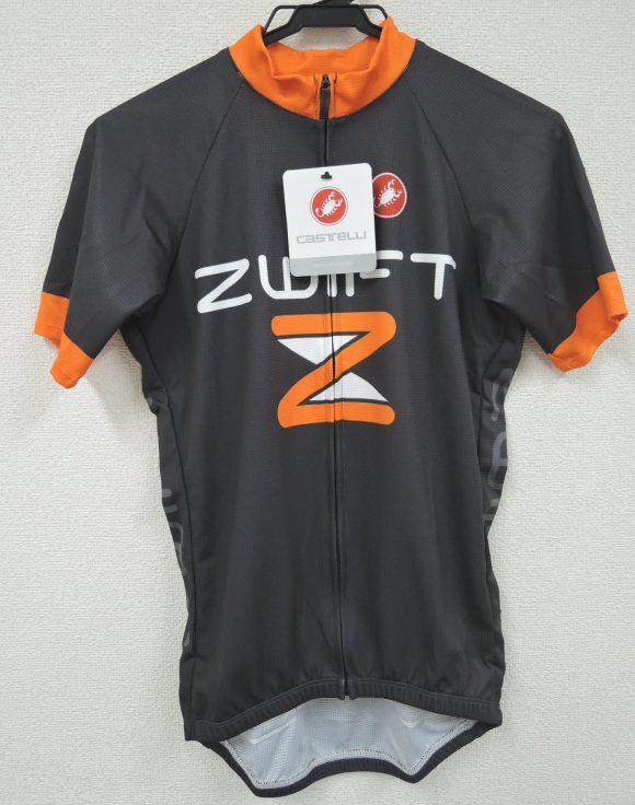 Zwift公式ジャージ 前面