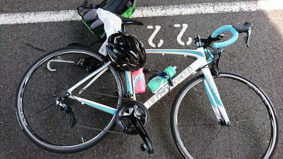 シマノ鈴鹿レース後のロードバイク機材