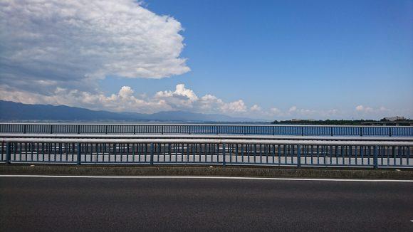 近江大橋から望む琵琶湖