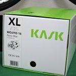 KASK Mojito マットブラック(XL)の外箱