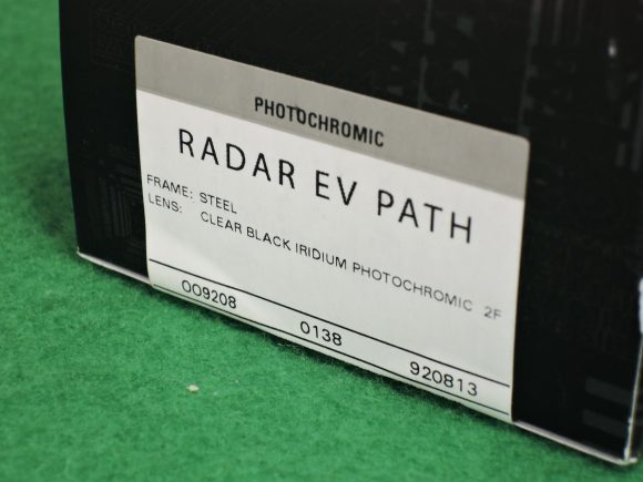 Oakley Radar EV Path 調光レンズモデル
