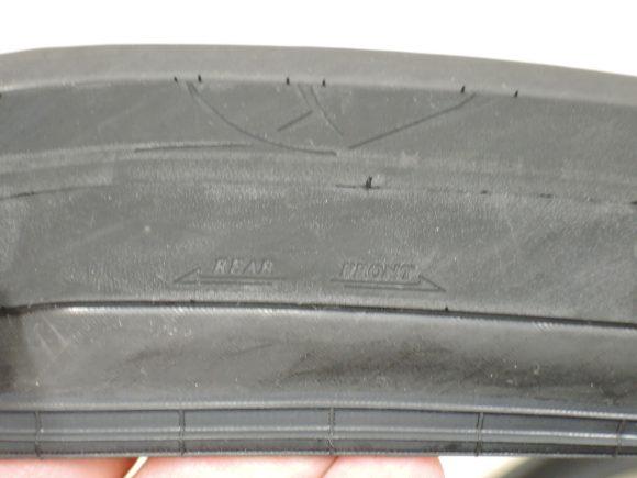 パナレーサー「ジラー」のタイヤ側面