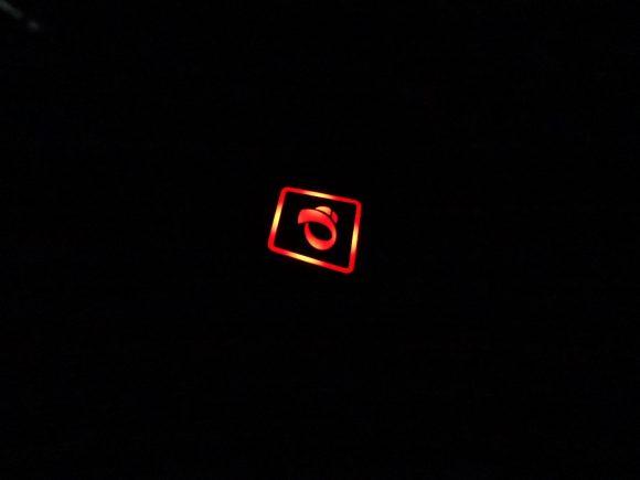 パールイズミ「ヒーターグローブ(HG-03)」のLEDランプ