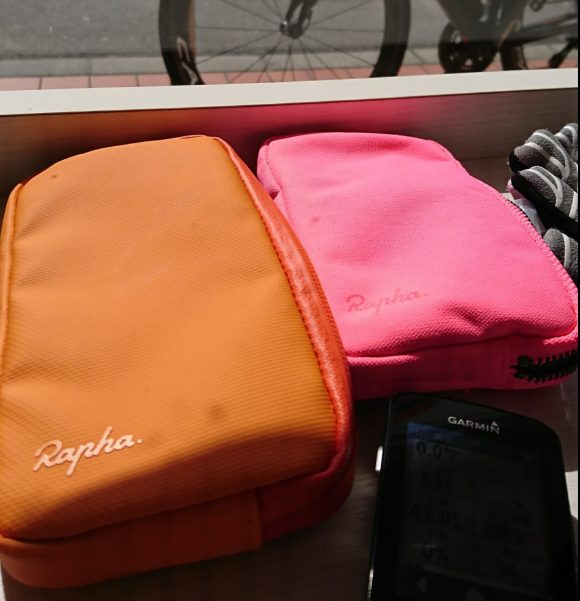 Rapha Essentials Case Pink & Orange