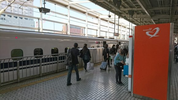 京都駅から新幹線輪行