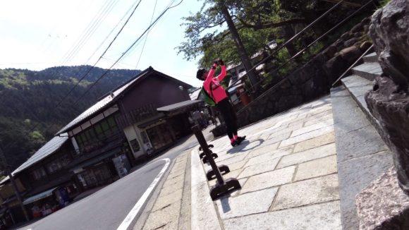 鞍馬寺までロードバイクでサイクリング