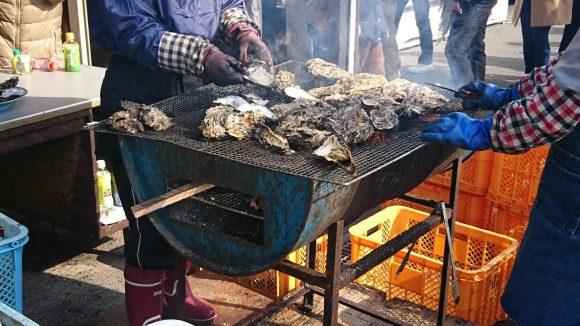 本浦の牡蠣直売所
