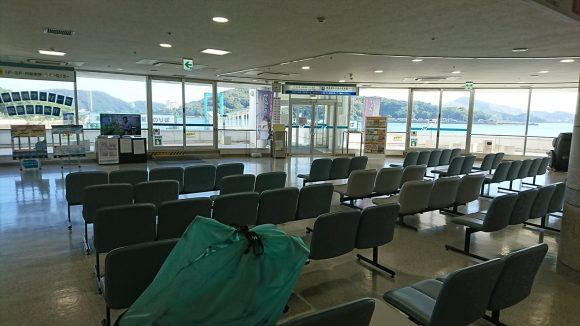 伊勢湾フェリー 鳥羽港 待合室