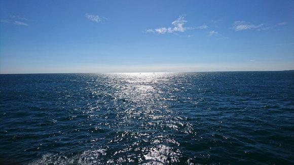 伊勢湾フェリーからの太平洋