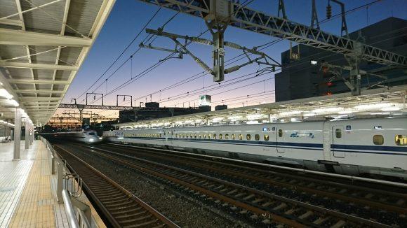浜松駅 新幹線ホーム