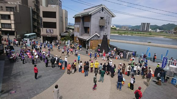 長良川 鵜飼舟乗り場