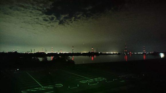 夜の木曽三川
