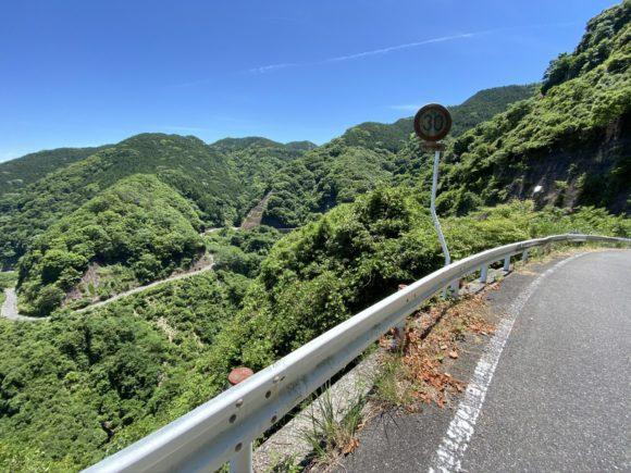 県道25号 二之瀬峠