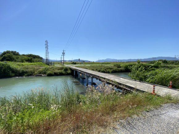 岐阜県 青柳橋 もぐり橋