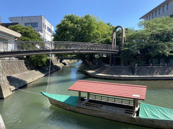 大垣市 四季の広場 虹の橋 聲の形
