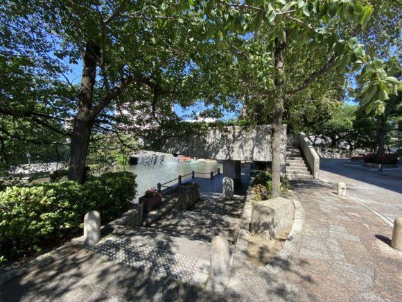 大垣 四季の広場 ウォーターカーテン 聲の形