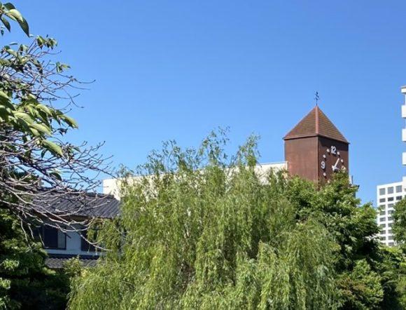 大垣市 四季の広場 大時計 聲の形