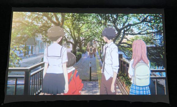大垣 四季の広場 美登鯉橋 聲の形